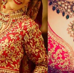 Blouse Neck Designs to Match Different Lehengas